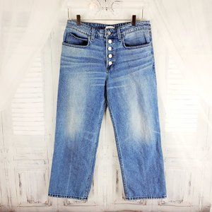 A.L.C. Montag High-Waisted Cropped Jeans